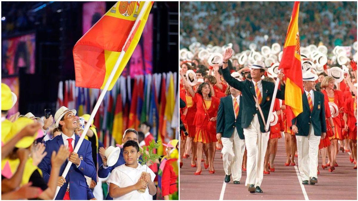 Todos los abanderados de España en los Juegos Olímpicos
