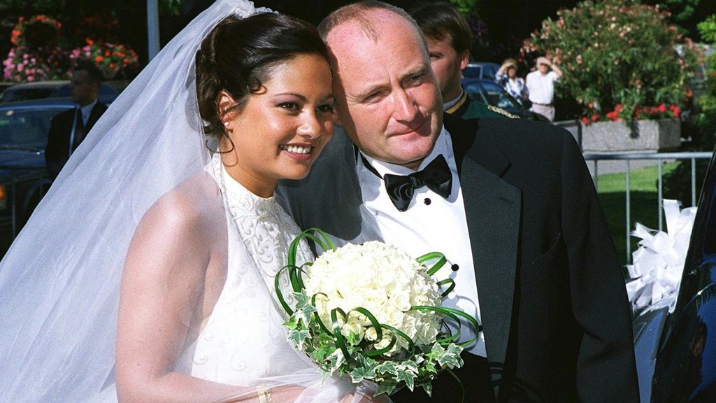 Boda de Phil Collins y Orianne Cevey