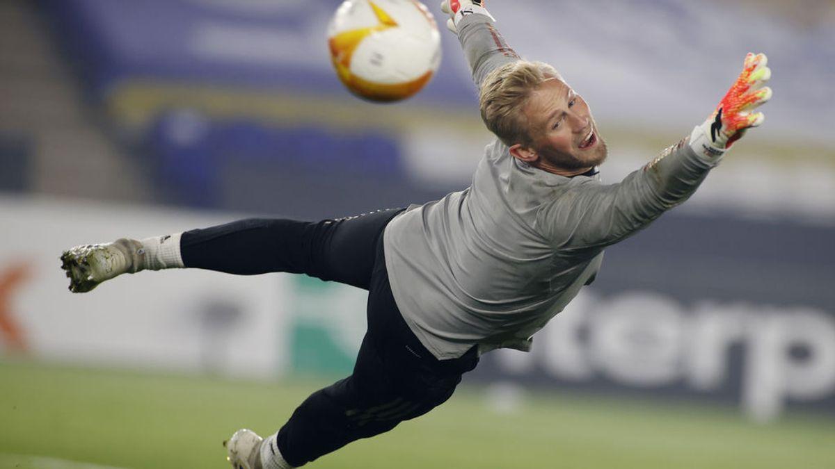 Kasper Schmeichel, jugador del Leicester City