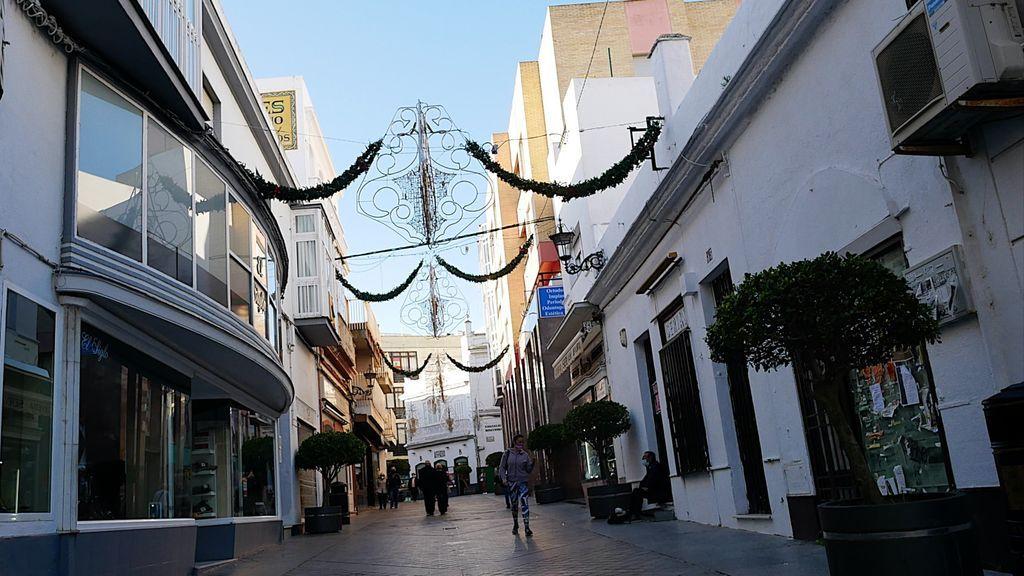 Una vista de la calle Rosario