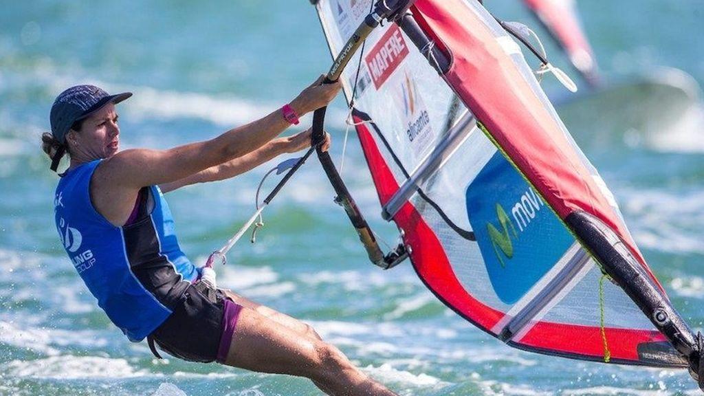 Marina Alabau, una de las últimas deportista en ganar una medalla en vela