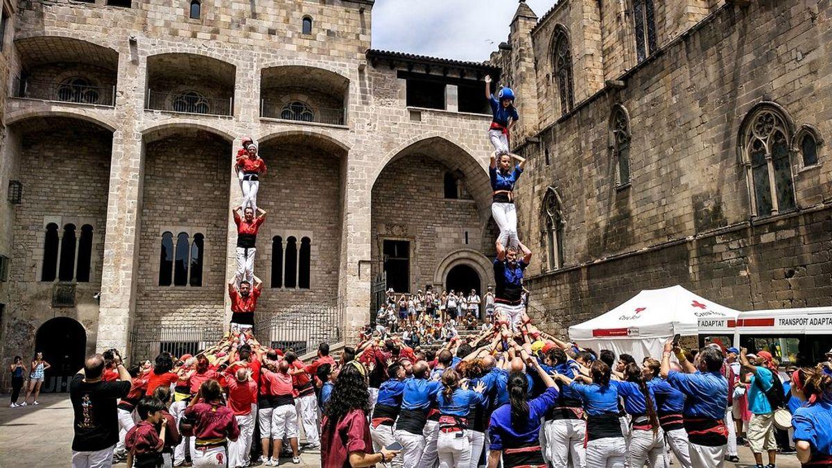 Detenido un miembro de los Castellers de Barcelona por abusos a ocho menores
