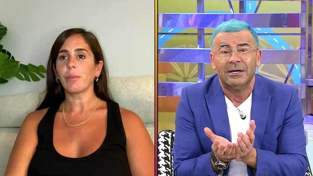 """Anabel Pantoja pide perdón por """"morder la mano"""" que le da de comer y Jorge Javier Vázquez le advierte: """"Por mi empresa doy zarpazos"""""""