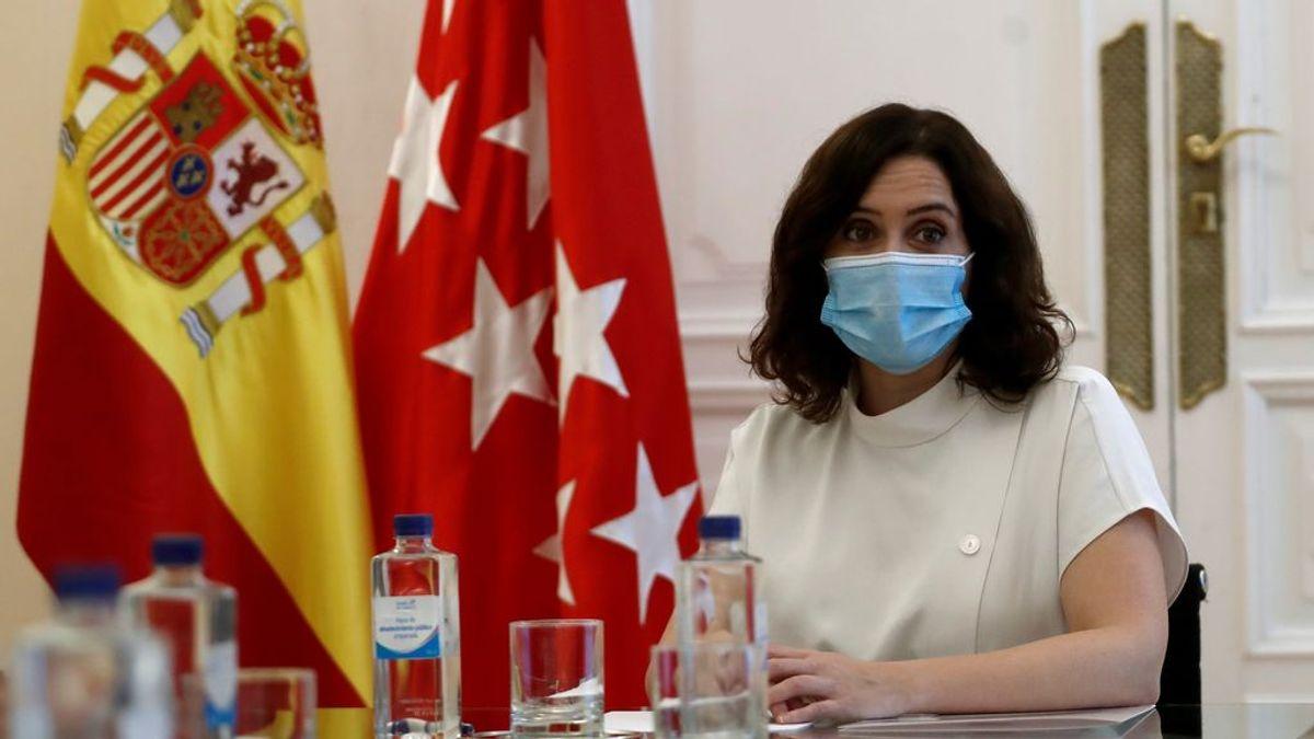 """Ayuso, negativo en coronavirus, recuperará su agenda: """"Mantengo los anticuerpos y no puedo contagiar"""""""