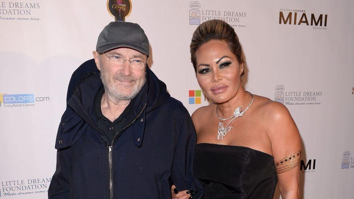"""La ex mujer de Phill Collins saca sus trapos sucios: """"Desprende hedor por no lavarse en un año"""""""
