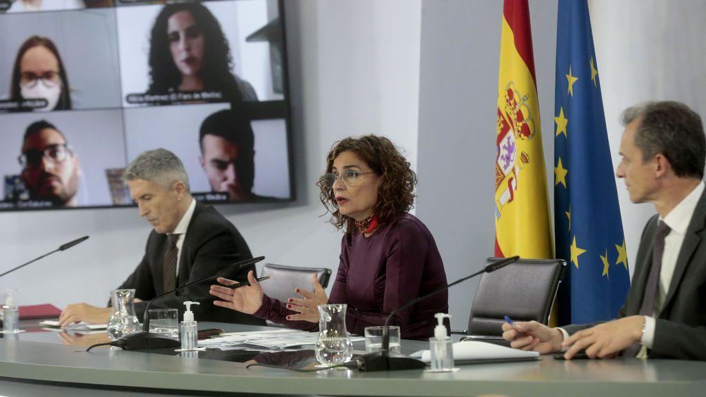 Rueda de prensa tras el Consejo de Ministros del 10 de noviembre