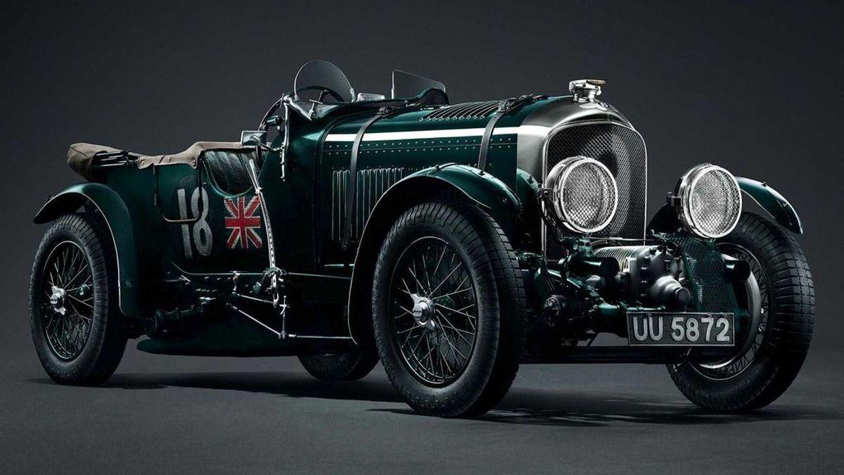 Bentley revive el clásico Blower de los años 20 para alegría de los amantes del motor