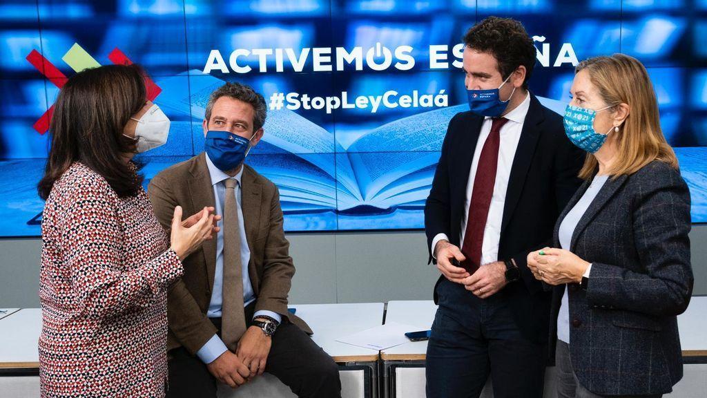 Teodoro García Egea, secretario general del PP en un acto del partido