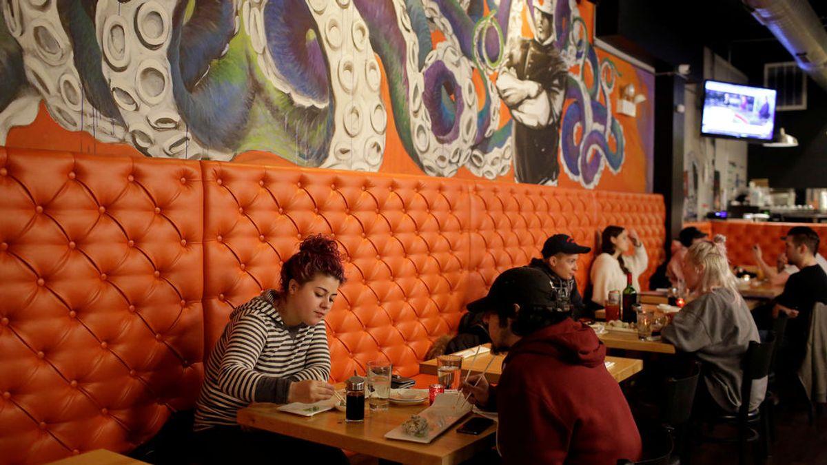 Un estudio confirma, a través de geolocalización, el riesgo de contagio en restaurantes o gimnasios