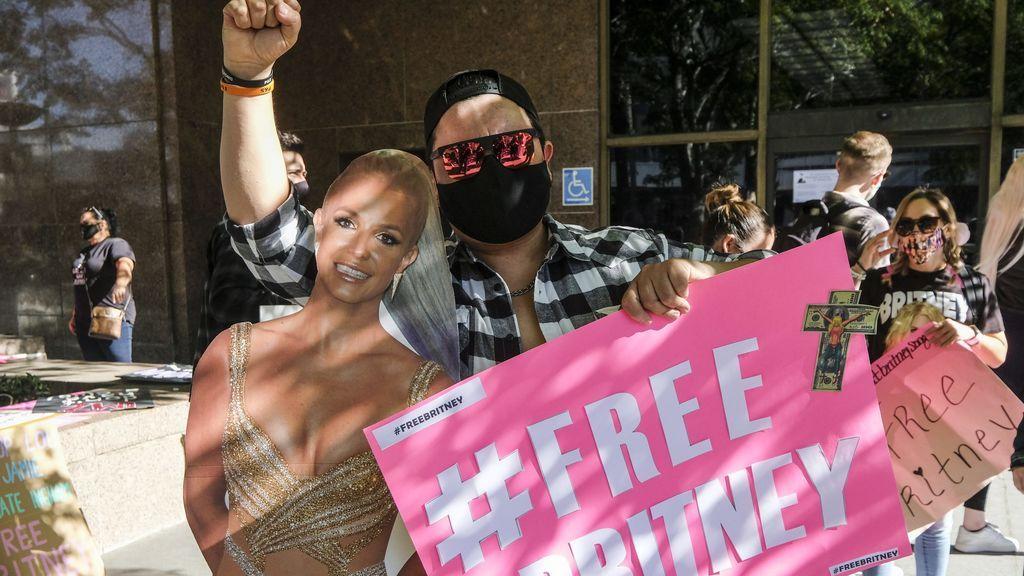 """""""Liberad a Britney Spears"""", la cantante pelea en los tribunales que su padre no sea su tutor legal"""