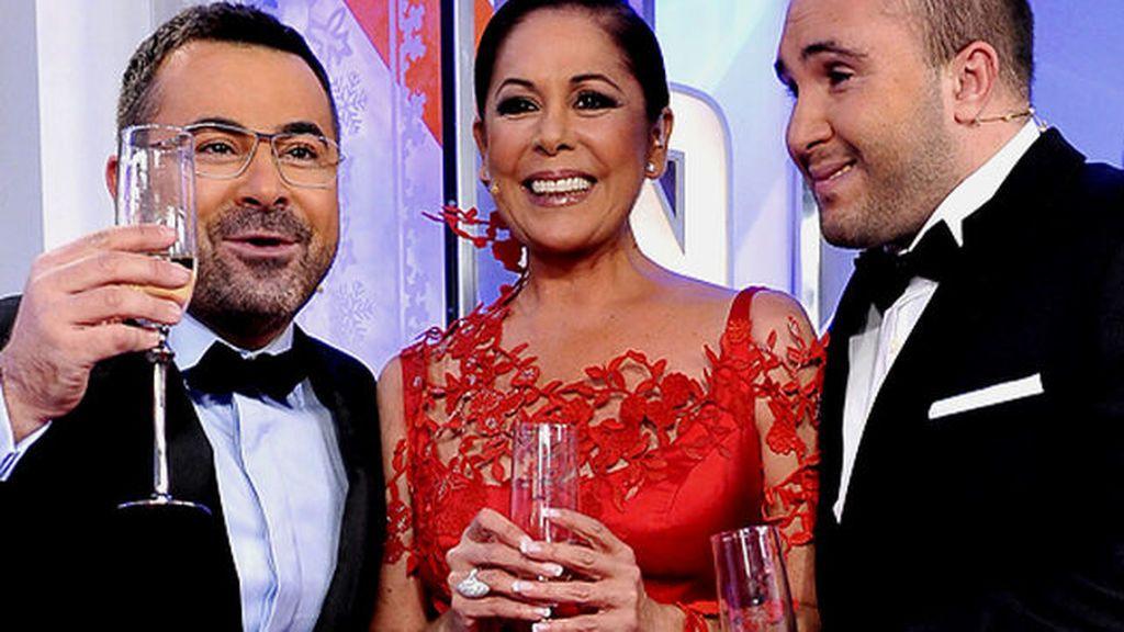 Campanadas de 2011 con Isabel Pantoja, Jorge Javier y Kiko Rivera