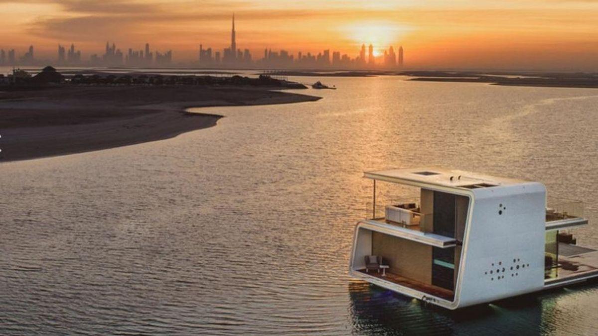 Casas flotantes de lujo: una tendencia al alza entre millonarios