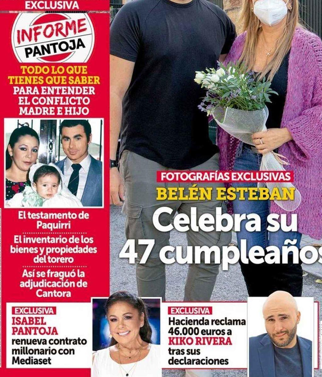 Isabel Pantoja y Kiko Rivera, en la revista Semana del 11/11/2020