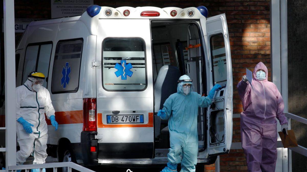 Italia supera el millón de contagios y suma 623 muertos más por coronavirus, el peor dato desde principios de abril