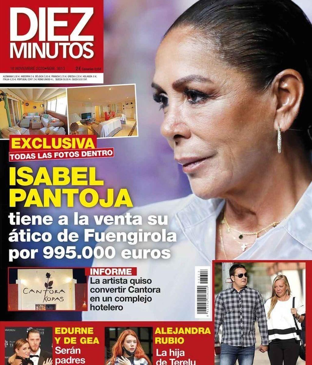 Isabel Pantoja, en la revista Diez Minutos del 11 de noviembre de 2020