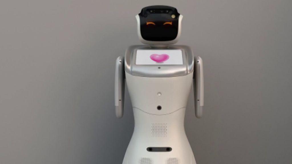 Sanbot, un robot que ayuda en la pandemia
