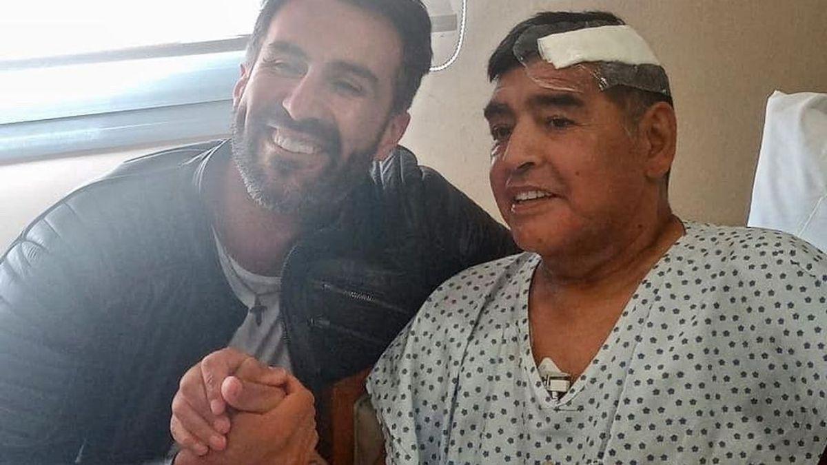 """Maradona, dado de alta tras 9 días hospitalizado por un hematoma subdural: """"Podría haberle costado la vida"""""""
