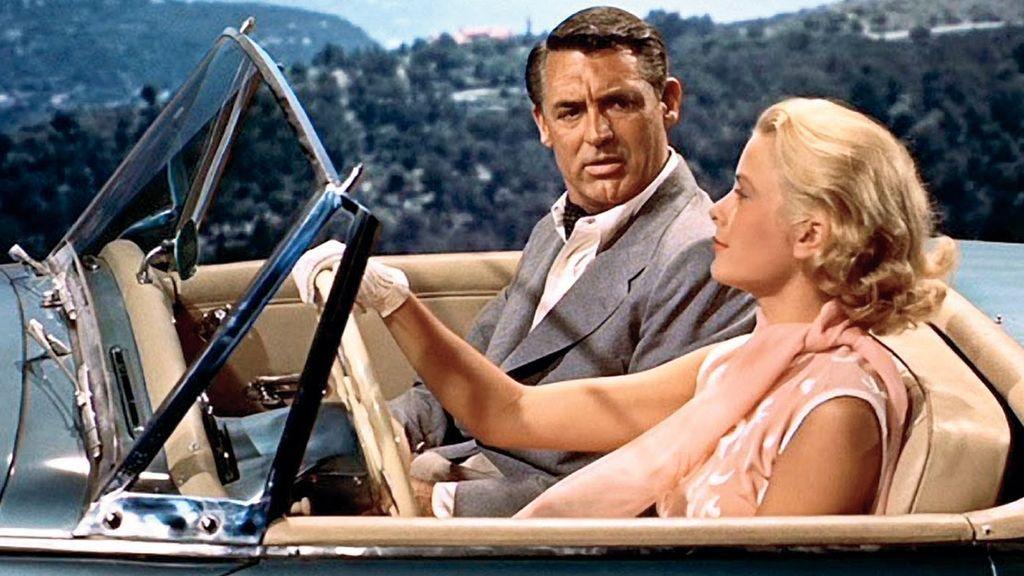 Grace Kelly y Cary Grant, en 'Atrapa a un ladrón'