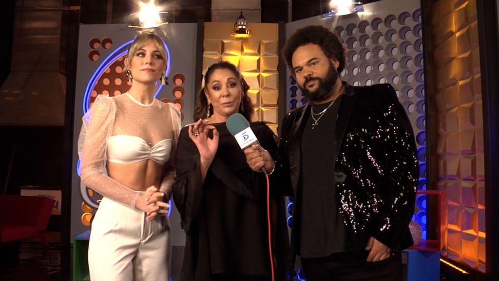 Edurne, Carlos Jean e Isabel Pantoja en 'Idol Kids'