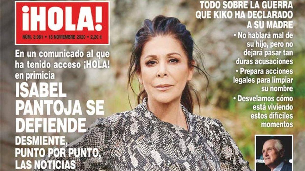 Isabel Pantoja responde a Kiko Rivera con un comunicado