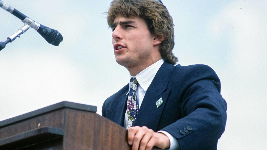 Tom Cruise en 1990