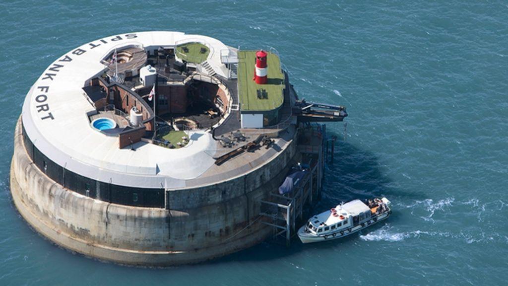 Spitbank: el fuerte en medio del mar reconvertido en hotel, a la venta por más de 4 millones de euros