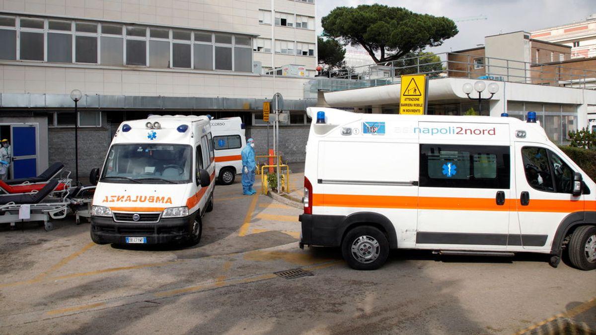Italia: conmoción por la muerte de un paciente de coronavirus en el baño de un hospital en Nápoles