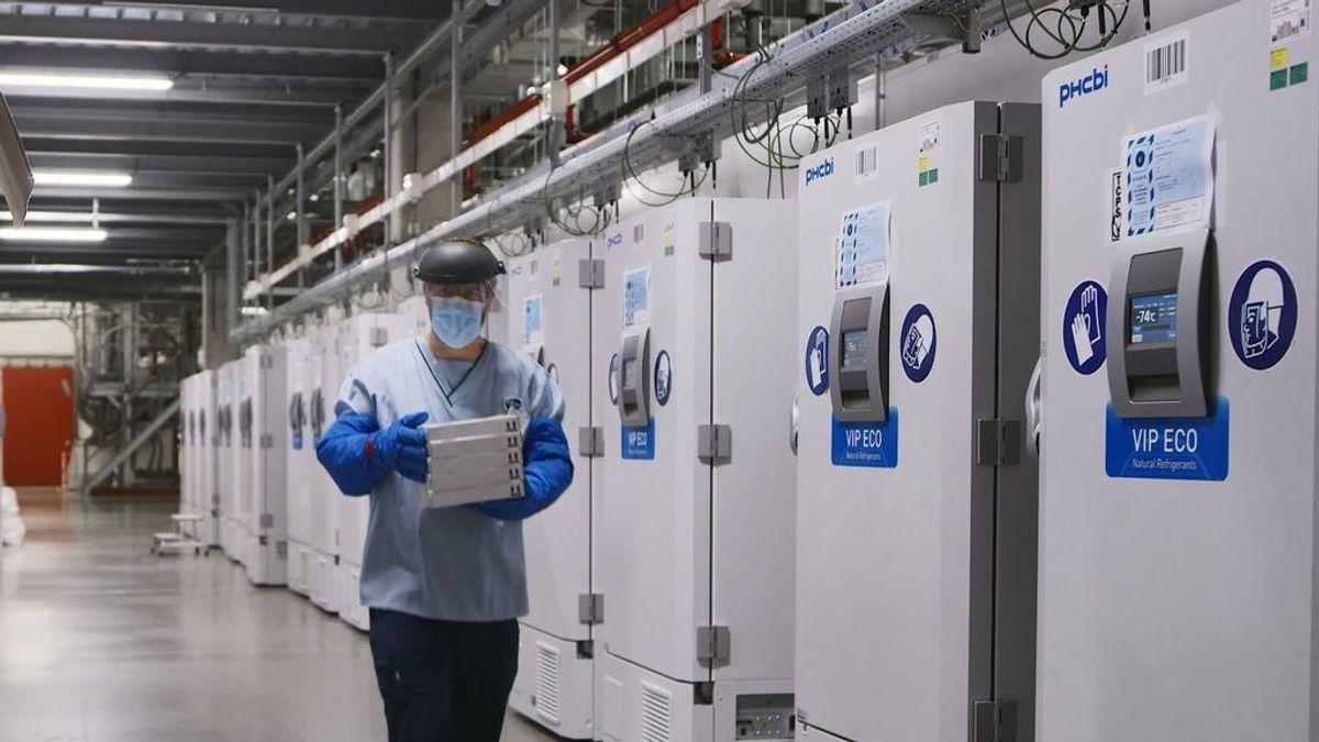 La logística del transporte de la vacuna de Pfizer 'congela' las esperanzas de un fin rápido de la pandemia