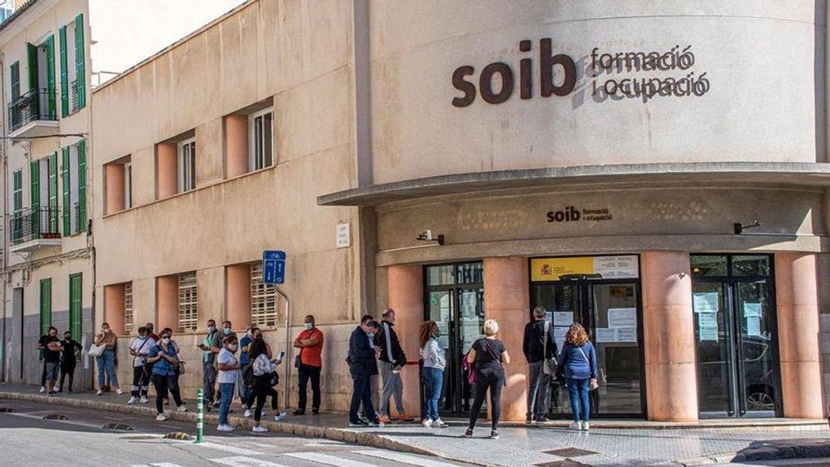 El cambio en los ERTE provoca un nuevo colapso en las oficinas de empleo