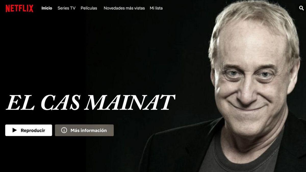 'El Cas Mainat', cartel ficticio de una serie en Netflix