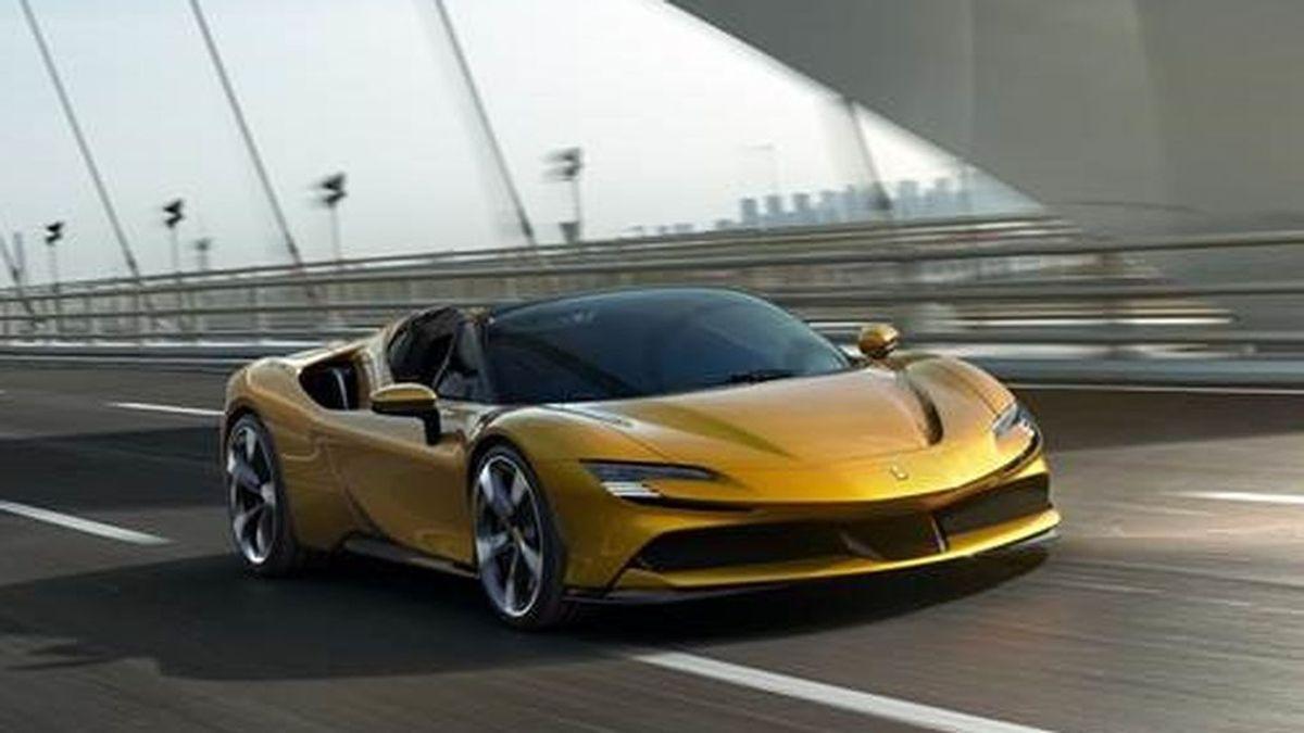 Ferrari SF90 Spider, con 1.000 caballos, el descapotable enchufable más potente del mundo