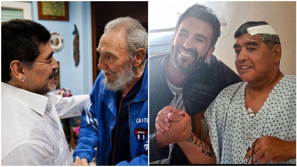 Maradona recibió la ayuda de Fidel Castro para superar su adicción a las drogas.