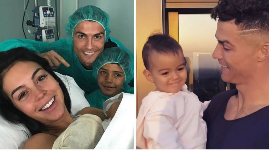 """La emotiva felicitación de cumpleaños de Cristiano Ronaldo a su hija Alana: """"Gracias por llenarnos de luz con tus sonrisas"""""""