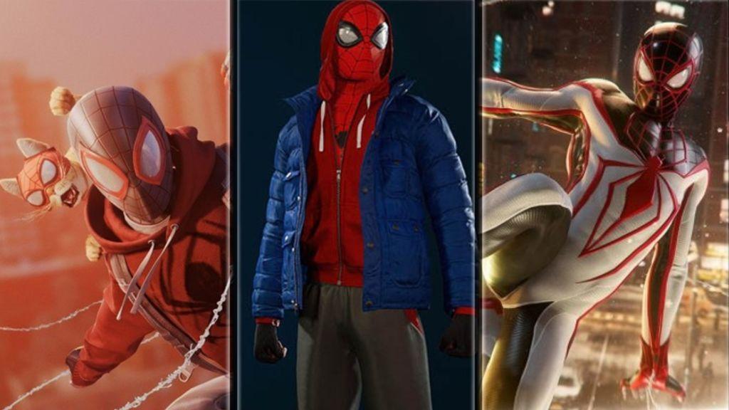 Todos los trajes de Spider-Man Miles Morales y cómo conseguirlos
