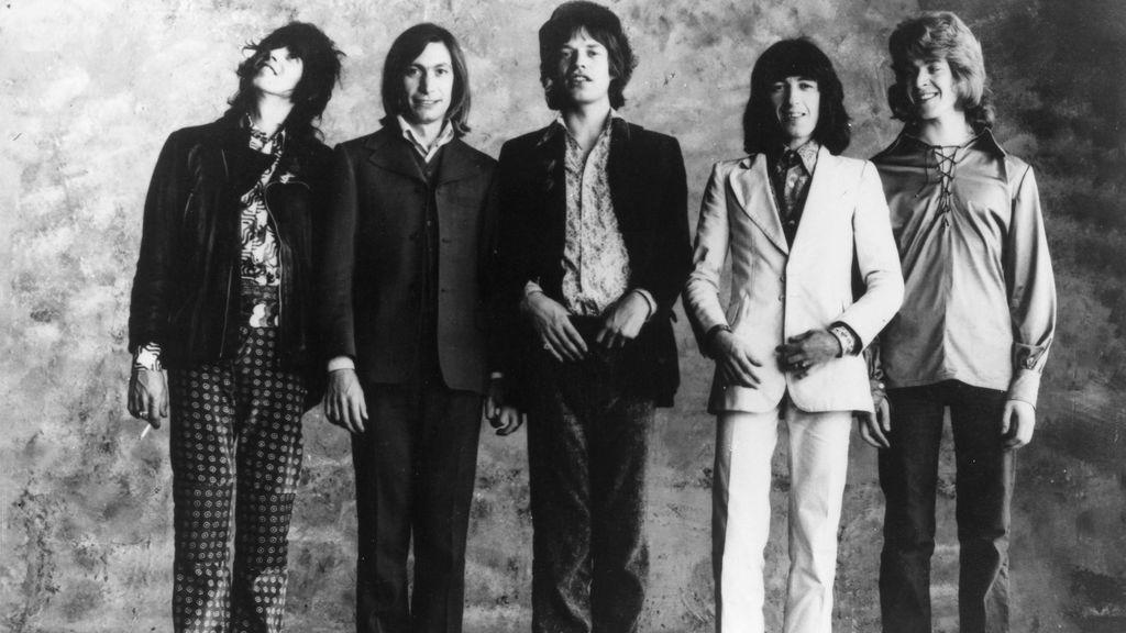 Los Rolling Stones en 1974
