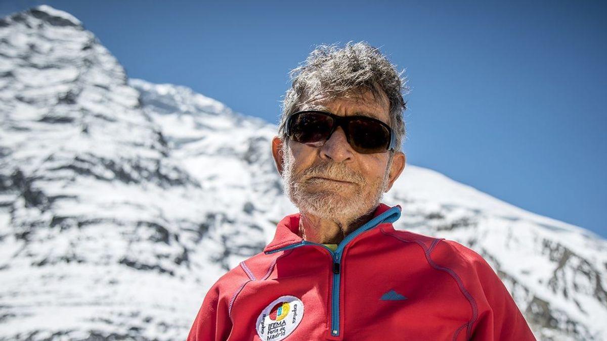 Carlos Soria escalará un nuevo ochomil a sus 81 años en homenaje a las victimas del covid