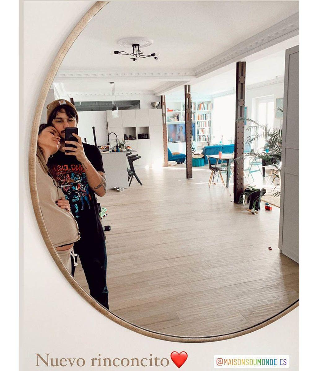 El salón y la cocina de Dafne Fernández