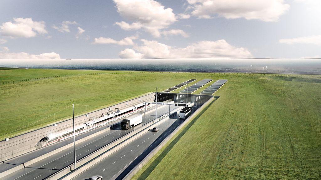 De Alemania a Dinamarca en 10 minutos: así será el túnel sumergido más grande del mundo