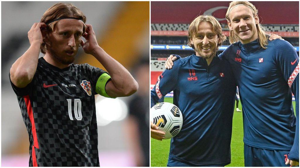 Modric jugó menos de 15 minutos ante Turquía.