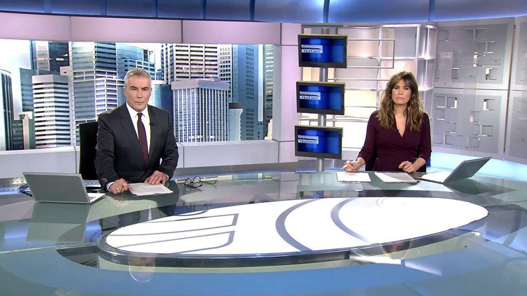 Con David Cantero e Isabel Jiménez Informativos Telecinco 2020 Mediodía 12/11/2020