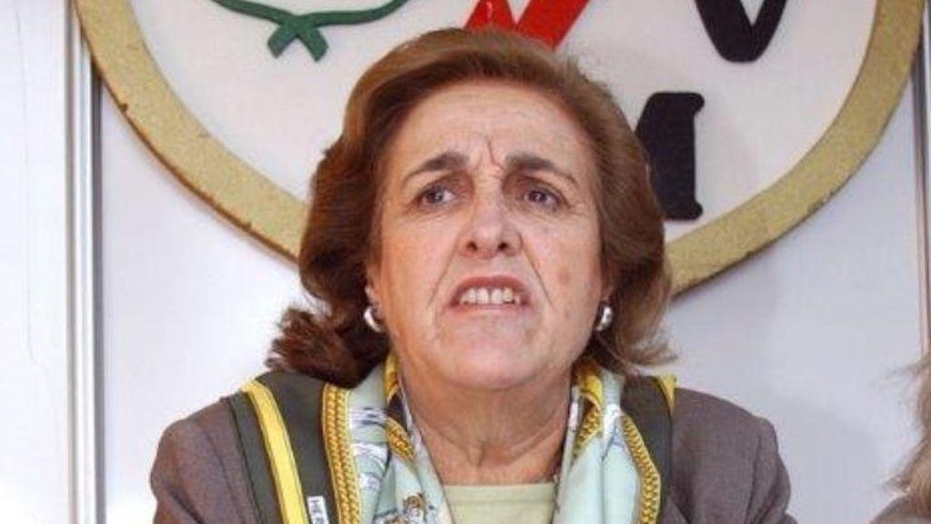 Teresa Rivero, ex presidenta del Rayo, en estado grave tras sufrir una caída en su casa de Madrid
