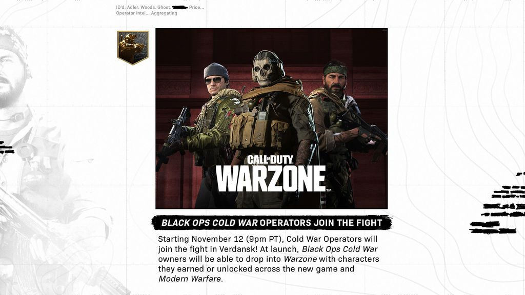 Call of Duty: Warzone - Cold War