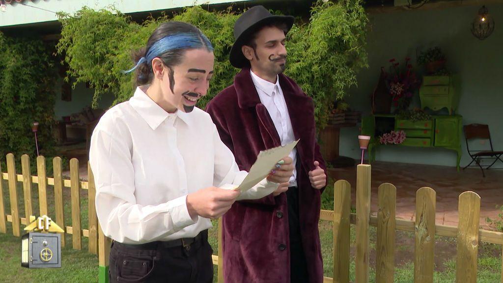 Mahi y Rafa triunfan con su poema dedicado a Rebeca 'Duro de pelar'