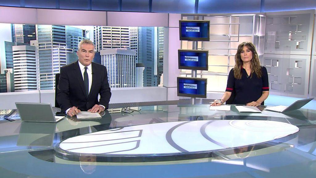 Con David Cantero e Isabel Jiménez Informativos Telecinco 2020 Mediodía 13/11/2020