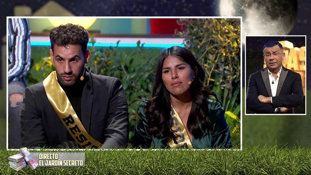 Isa y Asraf hablan con Jorge Javier