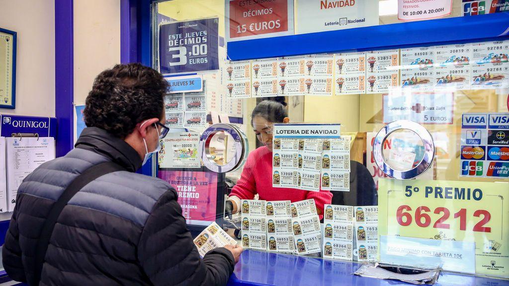 Cada español gastará 65 euros en lotería de Navidad, tres menos que el año pasado