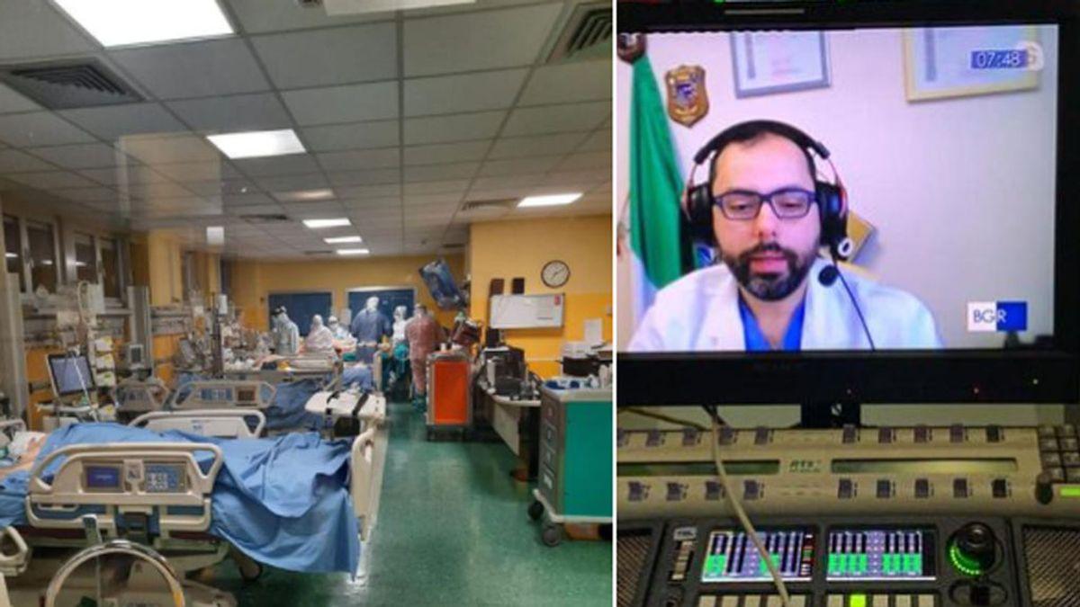 """Un médico invita a todos los negacionistas a un """"tour guiado"""" por su hospital: """"No seáis cobardes"""""""