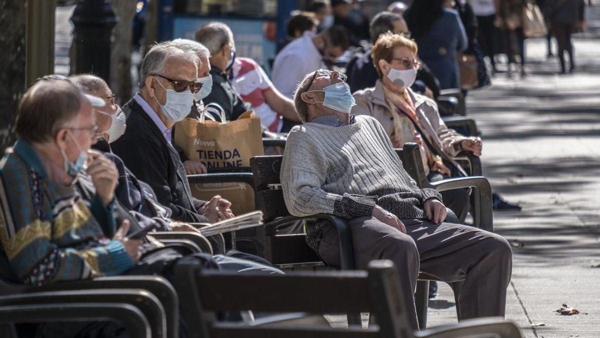 ¿Cuáles son las provincias con más contagios entre mayores de 65 años?