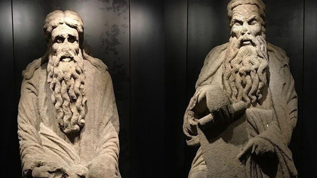 Las estatuas de Abraham e Isaac están catalogadas como BIC
