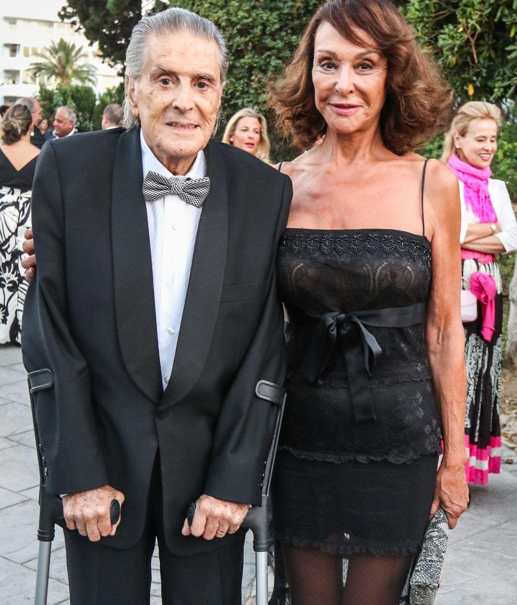 Jaime Ostos y su mujer, Mari Ángeles Grajal, en imagen de archivo